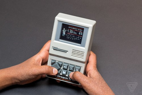 The Oregon Trail handheld game is a really fun nostalgia gadget
