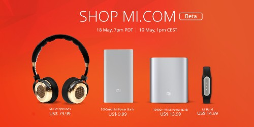 Xiaomi starts selling accessories online in US and Europe from today