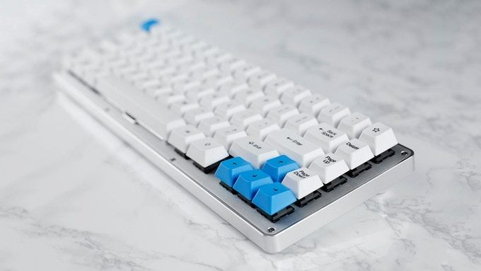 The WhiteFox mechanical keyboard is a pricey but beautiful gadget