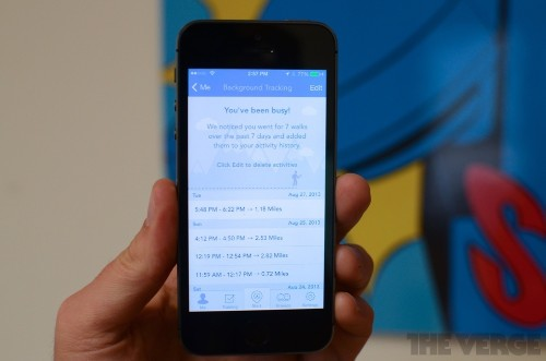 RunKeeper for iOS now tracks your runs in the background thanks to M7 support
