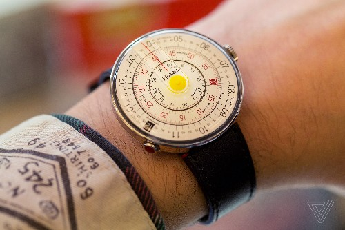 The Klok-01 watch turns heads and dials