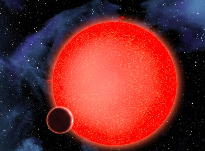 Hubble telescope finds evidence of clouds on a distant planet
