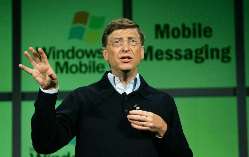 Bill Gates thinks Windows Mobile would have beaten Android without Microsoft's antitrust woes