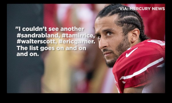 A timeline of Colin Kaepernick's national anthem protest and the athletes who joined him