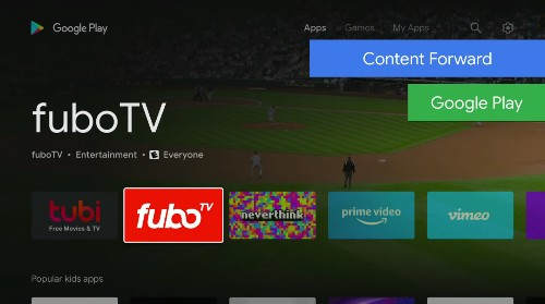 Android TV's redesigned Play Store is all about simple signups
