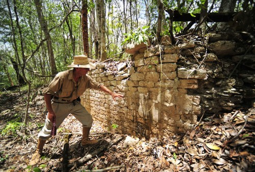 Archaeologists find 'Chactun,' a long lost Mayan city in eastern Mexico