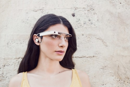 Google shows off updated Glass hardware with earbud and prescription support
