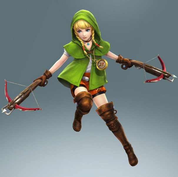 Meet the new female Link from The Legend of Zelda