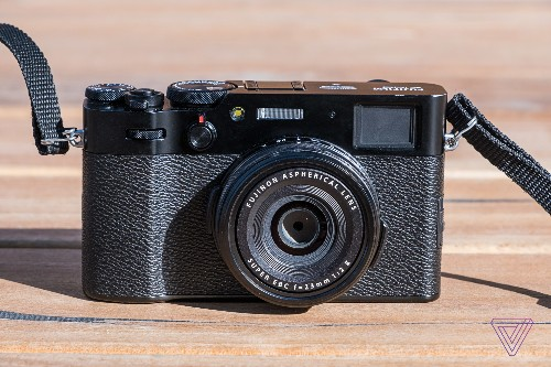 Fujifilm's X100V adds a new lens and tilting screen to a classic design