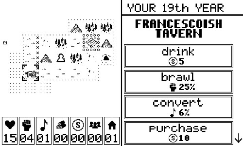 Play this weird, low-fi peasant simulator from the designer of Threes
