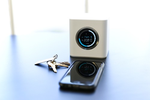 AmpliFi Wi-Fi system pairs router, extenders, app, and speedometer