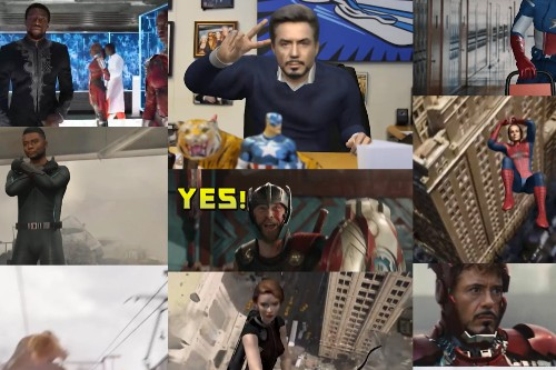 You can become an Avenger with this GIF maker