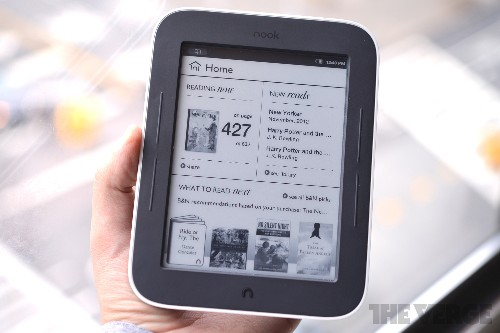 Nook Simple Touch e-readers reportedly adding web browser and email client next week