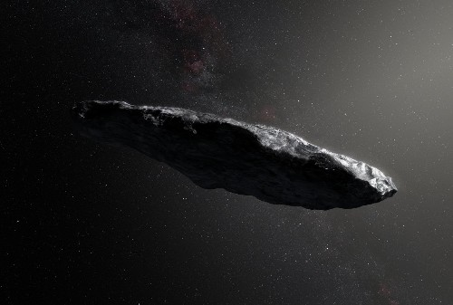The first asteroid we've seen from outside our Solar System is totally bizarre