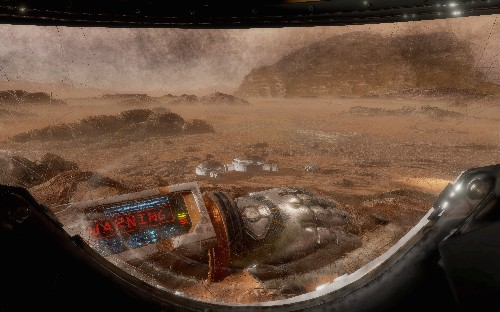 The Martian VR Experience is out of this world
