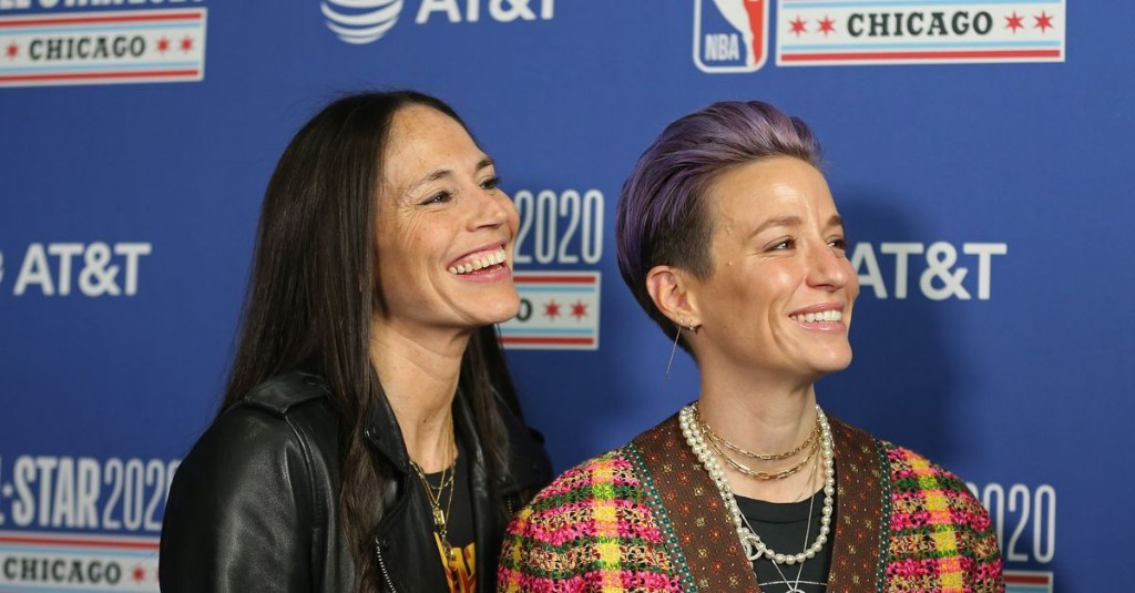 Sports power couple Sue Bird and Megan Rapinoe now on the way to marriage