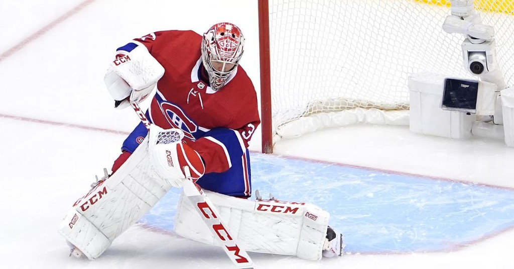 Carey Price was one of the best defencemen for the Canadiens versus the Penguins