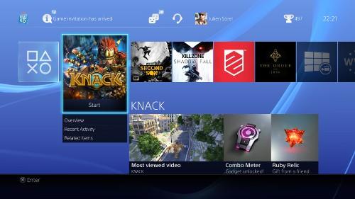 Latest PS4 screenshots show gradual evolution, new mobile app