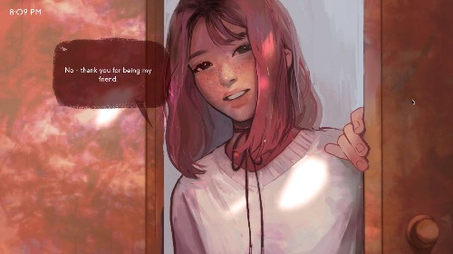 Missed Messages is a powerful romance / horror game about communicating