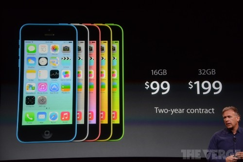iPhone 5c: a plastic and colorful iPhone available on September 20th for $99