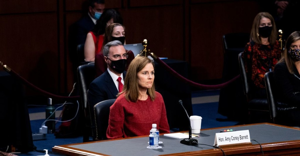 7 key moments from Amy Coney Barrett's Supreme Court hearing