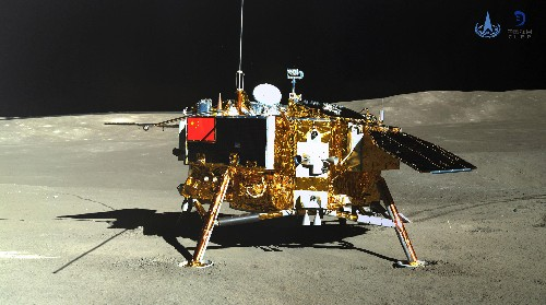 China's lunar lander successfully sprouts cotton on the Moon
