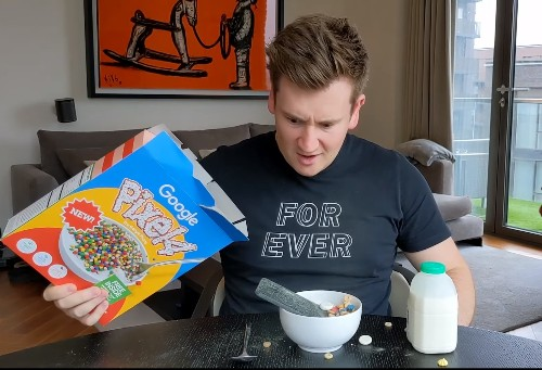 C'mon Google, do a Pixel cereal box giveaway for real