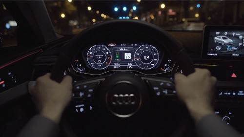 Audi's traffic light sensor gives you the power to catch as many green lights as possible
