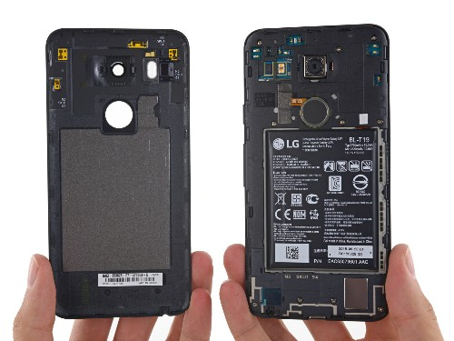 Teardown shows Google's Nexus 5X is pretty easy to repair