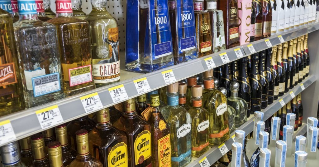 Liquor Store Sales Boom While Bar Sales Bust During Pandemic