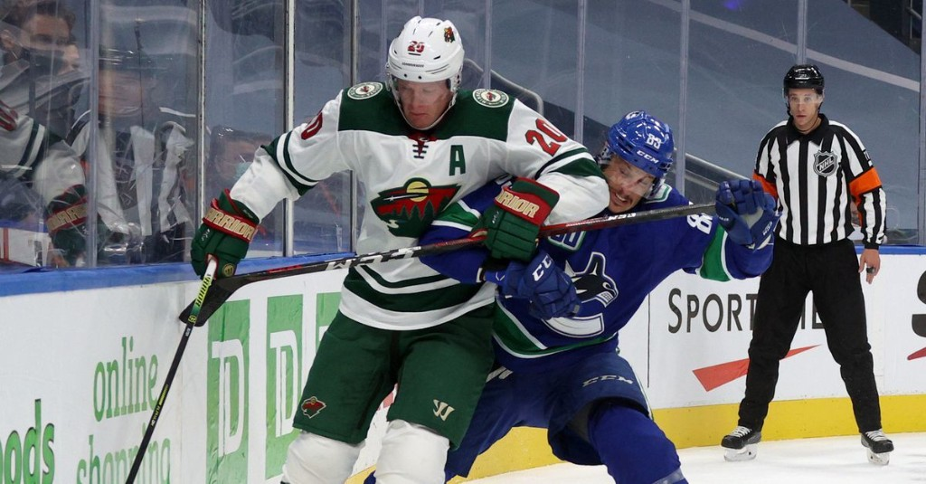 Play-In Report Card: Ryan Suter had up-and-down, injury-shortened series