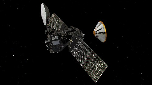 The ExoMars spacecraft will separate this morning, to prepare for a harrowing Mars landing