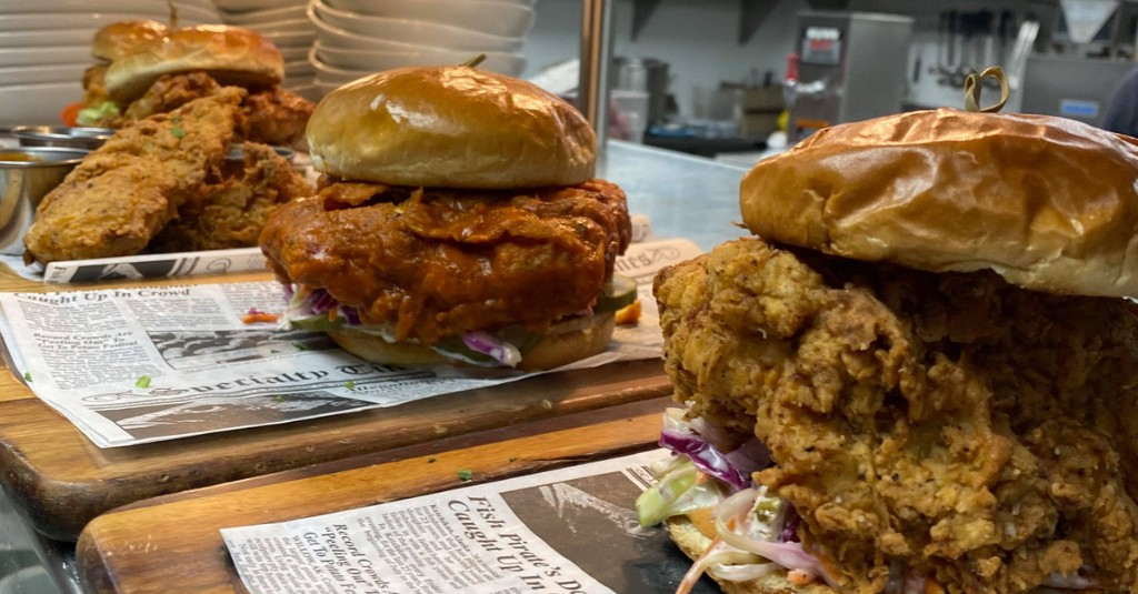 An 'Incredibles'-Inspired Fried Chicken Sandwich Shop, Plus Seven More Openings
