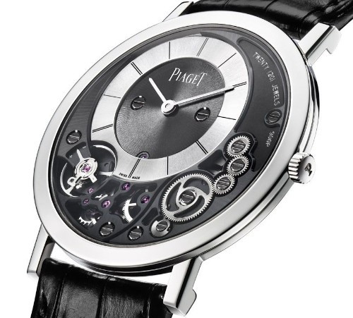 World's thinnest mechanical watch will cost over $20,000