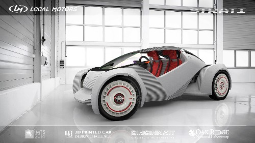 A 3D-printed car is coming that stretches the boundaries of design