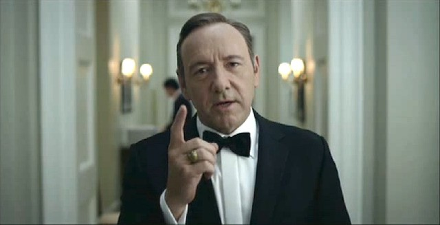Watch this: Kevin Spacey becomes a real-life political puppet master in 'House of Nerds'