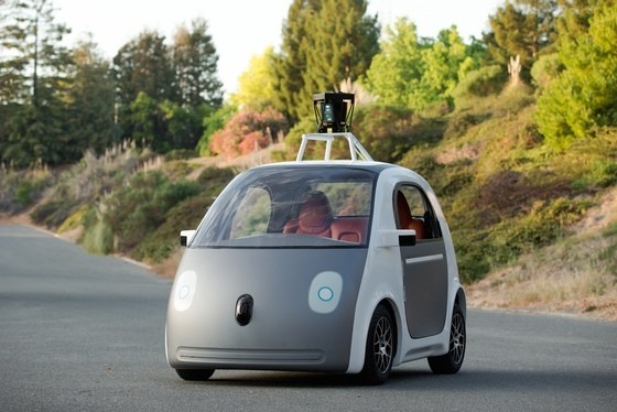 Google is testing its autonomous cars in a 'Matrix-style' version of California