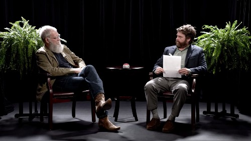 David Letterman's 'Between Two Ferns: The Movie' Uncut Extended Interview