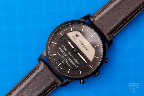 Fossil's Hybrid HR smartwatches have good battery life and bad software