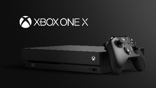 Xbox One X is Microsoft's next games console, arriving on November 7th for $499
