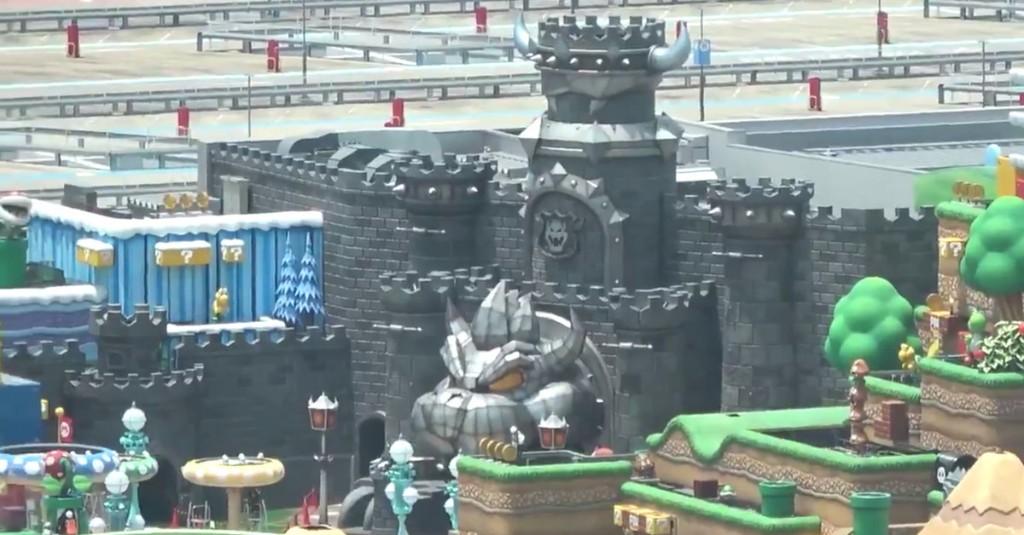 Super Nintendo World Japan looks like a Mario level dropped into reality