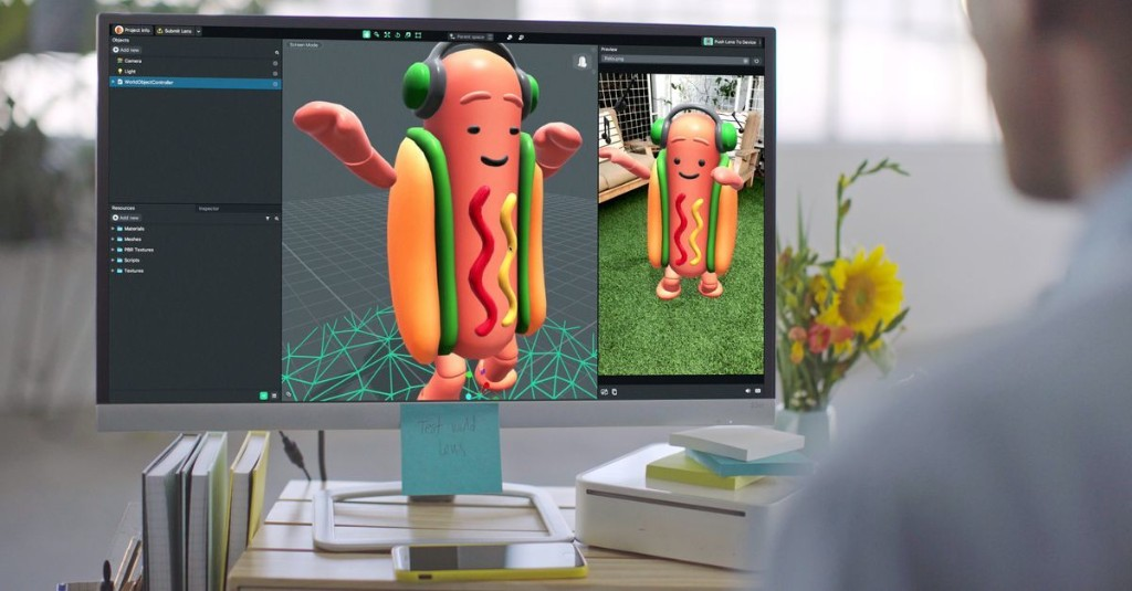 Snap releases Lens Studio, a tool for creating your own AR effects