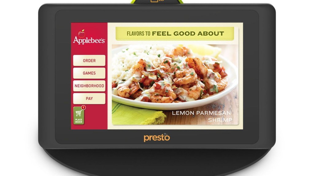 Applebee's installing 100,000 tablets to take orders and kill boredom