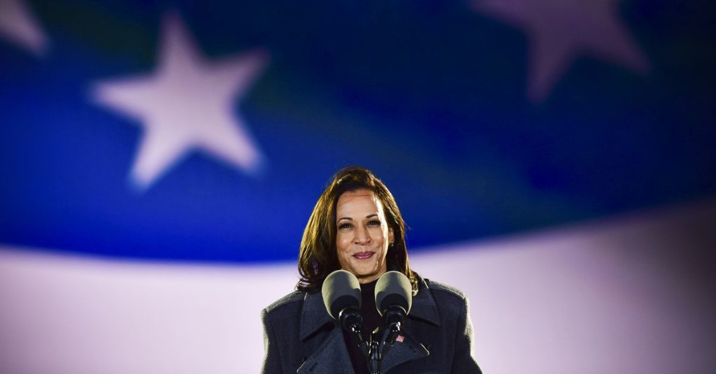 Kamala Harris makes history as the first woman to become vice president