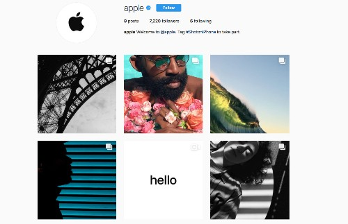 Apple launches official Instagram account to show off iPhone photographers' work