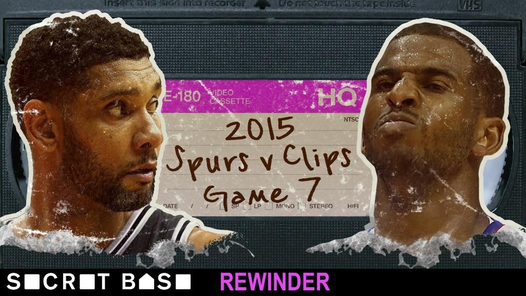 Chris Paul's last-ditch, stigma-shattering moment against the Spurs deserves a deep rewind