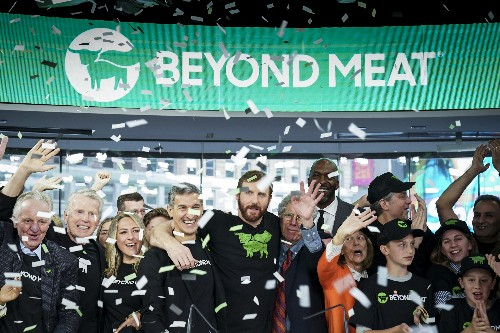 Beyond Meat's success may mean more fake food is on the way