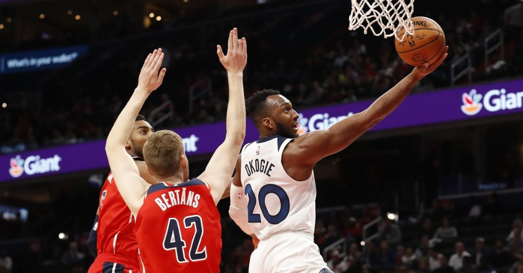 Deal of the Day: How would the Wizards look if they trade the No. 9 draft pick with the Timberwolves?