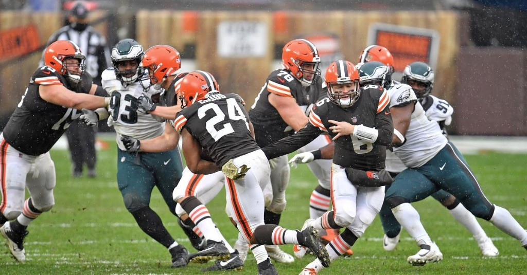 Browns' offensive snap counts, stats, and notes: Week 11