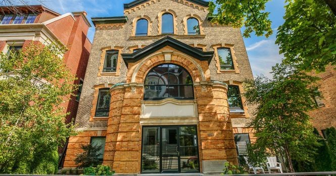 Loft-like three-bedroom in former convent asks $775K